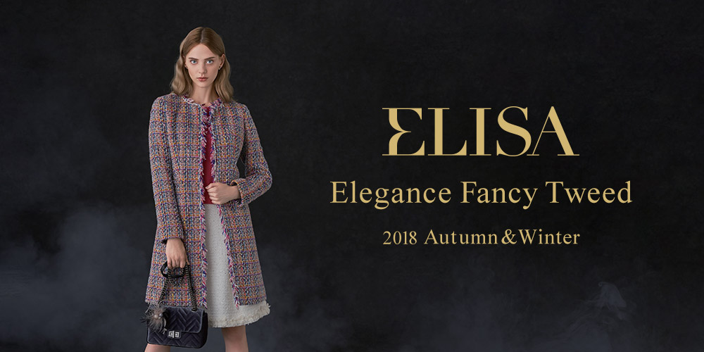 ELISA Elegance Fancy Tweed 2018 Autumn & Winter