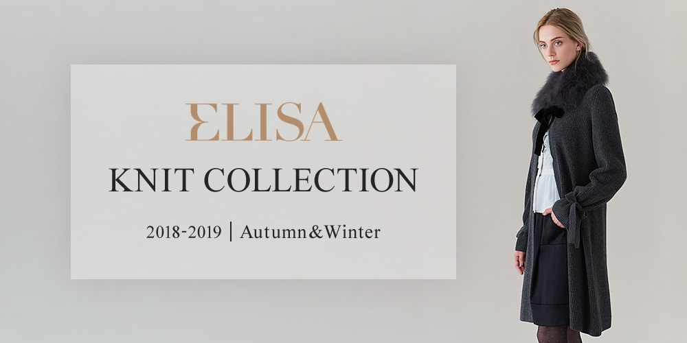 ELISA 2018-2019 AUTUMN&WINTER KNIT COLLECTION