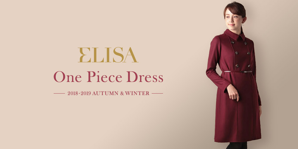 2018-2019 Autumn & Winter One Piece Dress ELISA