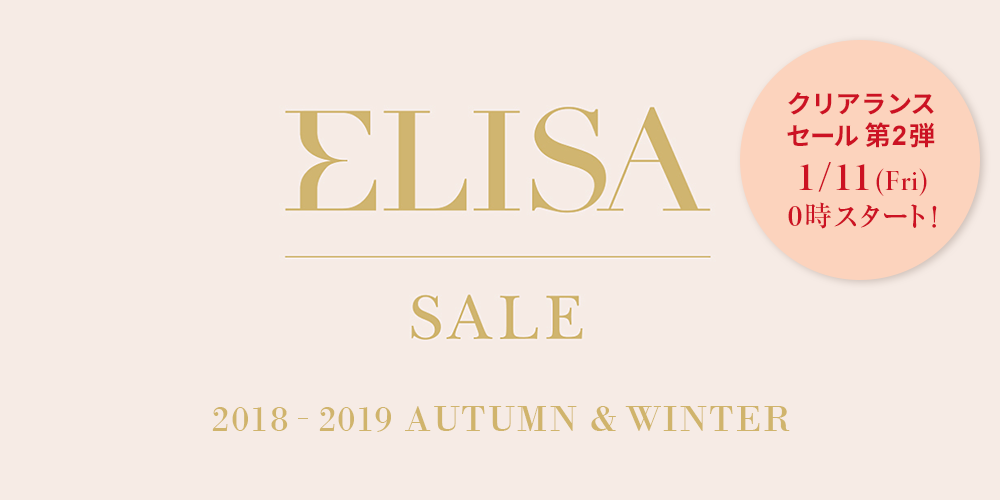 ELISA SALE 2018-2018 AUTUMN & WINTER