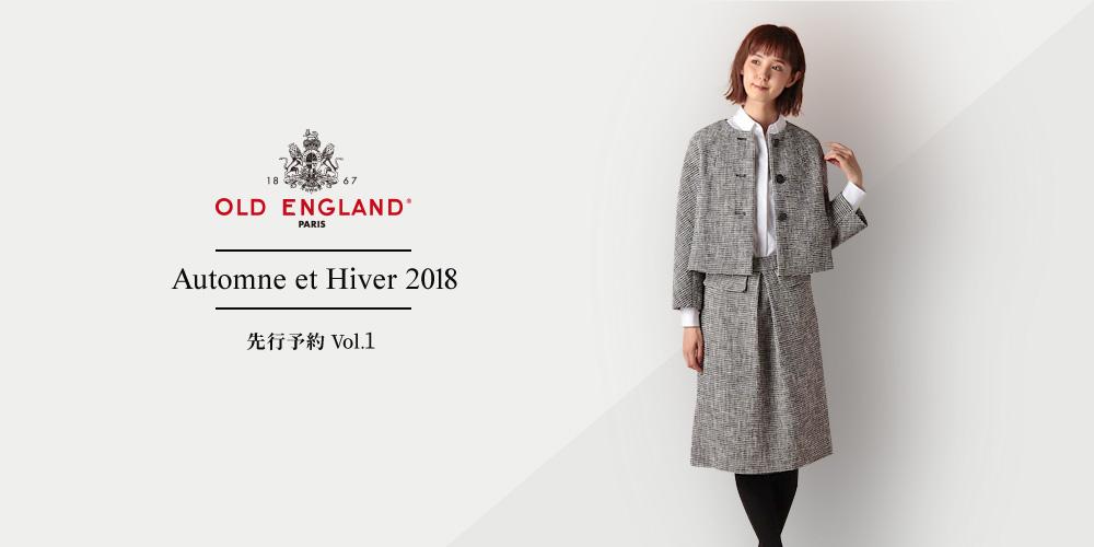 OLD ENGLAND Automne et Hiver 2018 蜈郁。御コ育エХol.1