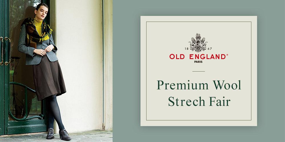 OLD ENGLAND Premium Wool Strech Fair
