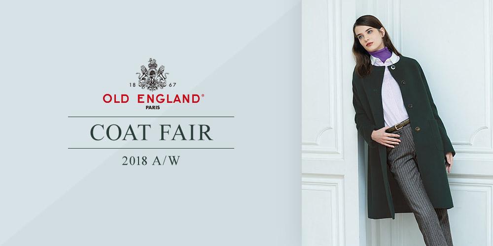 OLD ENGLAND 2018A/W Coat Fair