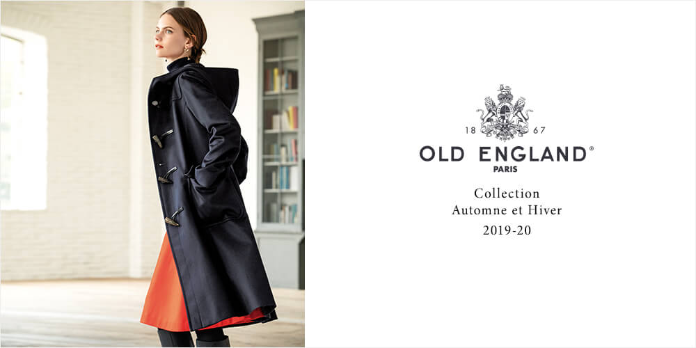 OLD ENGLAND Collection Automne et Hiver 2019-20