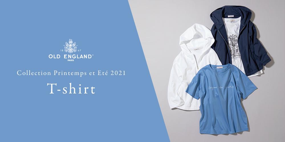 OLD ENGLAND Collection Printemps et Ete 2021 T-shirt