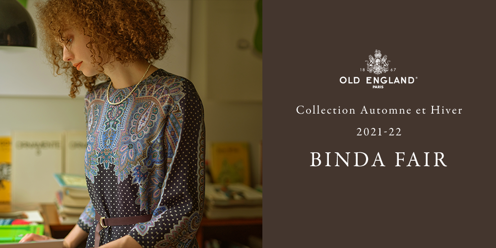 OLD ENGLAND Collection Automne et Hiver 2021-22 binda collection