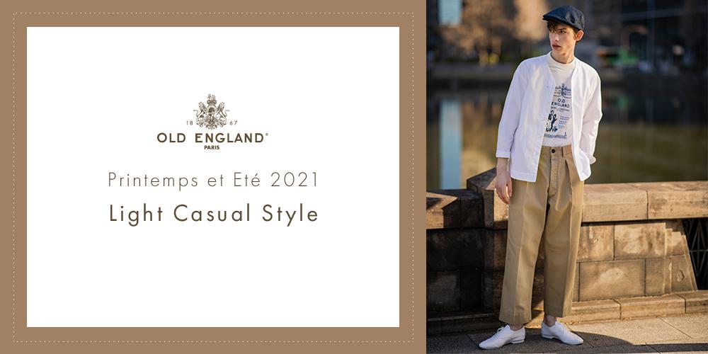 Printemps et Ete 2021 OLD ENGLAND Light Casual Style