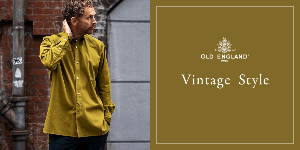 OLD ENGLAND HOMME Vintage  Style