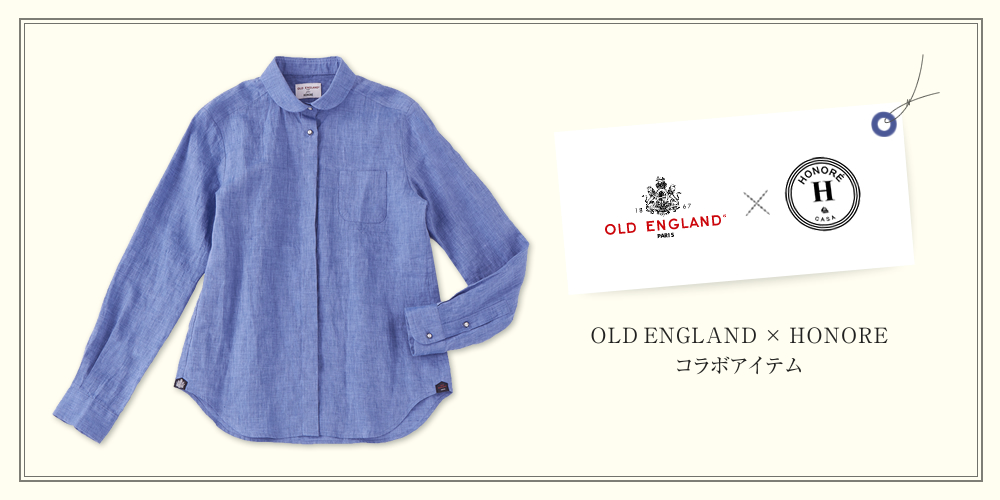 OLD ENGLAND × HONORE